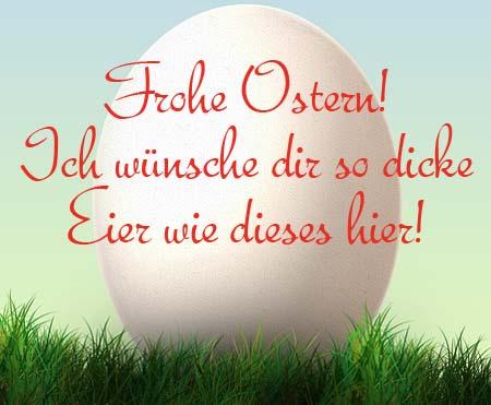 Lustiger Spruch zu Ostern