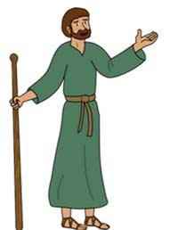 Jesus Christus ist der Hirte und die Menschen sind die Schafe - so veranschaulicht die Bibel häufig die Beziehung zwischen Menschen und Jesus. Deshalb wird der Hirte häufig in Zusammenhang mit christlichen Riten verwendet.