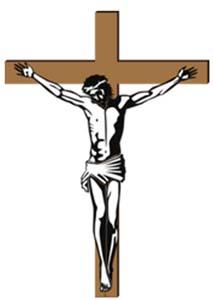 Jesus am Kreuz veranschaulicht das Leiden, das er für uns auf sich genommen hat.