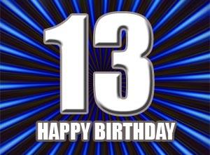 13 Geburtstag Gluckwunsche Und Spruche