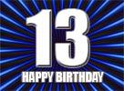 13.Geburtstag Glückwünsche