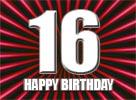 Sprüche zum 16. Geburtstag
