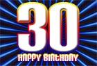 Spr�che zum 30. Geburtstag