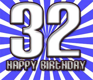 32. Geburtstag Gl�ckw�nsche