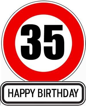 35. Geburtstag Gl�ckw�nsche