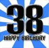 Sprüche zum 38. Geburtstag