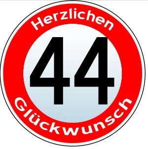 44. Geburtstag Gl�ckw�nsche