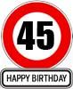 45. Geburtstag Sprüche