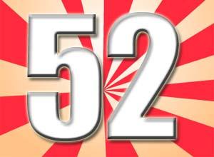 Spr�che zum 52. Geburtstag