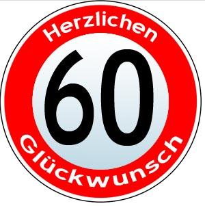 60. Geburtstag Gl�ckw�nsche