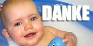 Danksagung Zur Geburt Für Baby Geschenke Und Glückwünsche