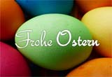 Vorlage f�r eine farbenfrohe Karte zu Ostern