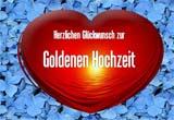 Vorlage f�r eine Goldhochzeitskarte kostenlos